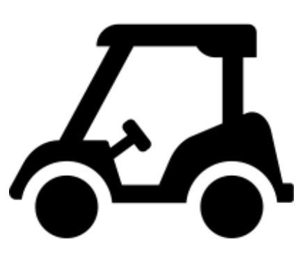 Golf Beverage Cart Sponsor